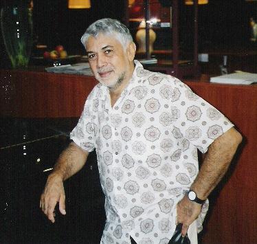 Monty ALexander in het hotel